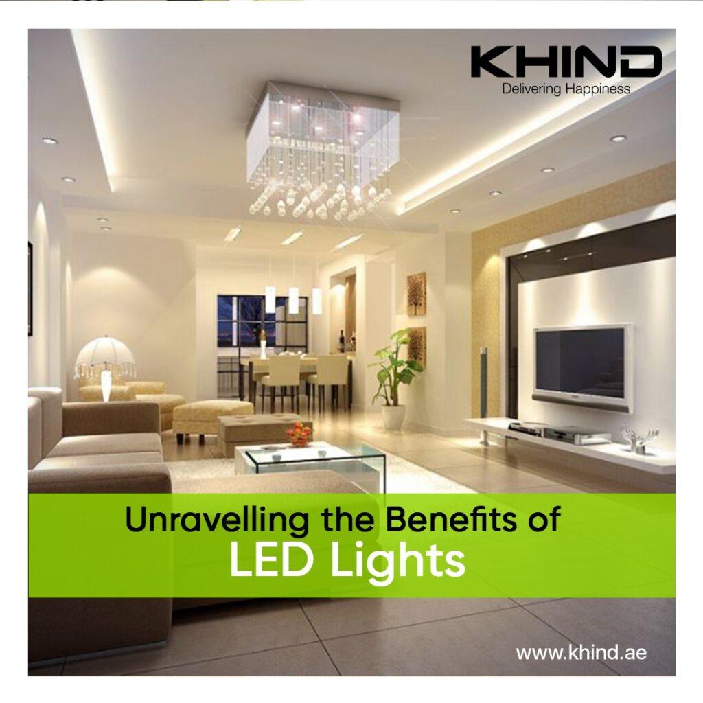 benefits of LED Lights kHIND